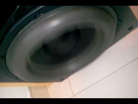 Sunfire HRS-12 subwoofer playing Bass I love You