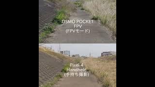 DJI OSMO POCKET (FPV Mode)