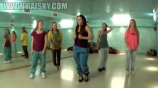 Смотреть онлайн Школа танцев: Урок по хип хопу для начинающих