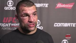 UFC Fortaleza: Entrevista de backstage com Mauricio Shogun