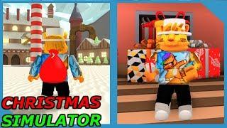 NEW CHRISTMAS SIMULATOR (Roblox The North Pole)