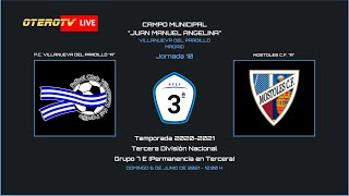 R.F.F.M. - TERCERA DIVISIÓN NACIONAL - PERMANENCIA - Jornada 10: F.C. Villanueva del Pardillo 4-0 Mostoles C.F.
