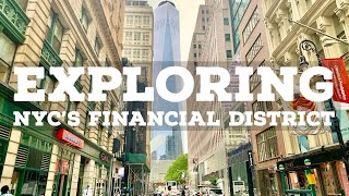 ⁴ᴷ⁶⁰ Walking Around the Financial District of New York City