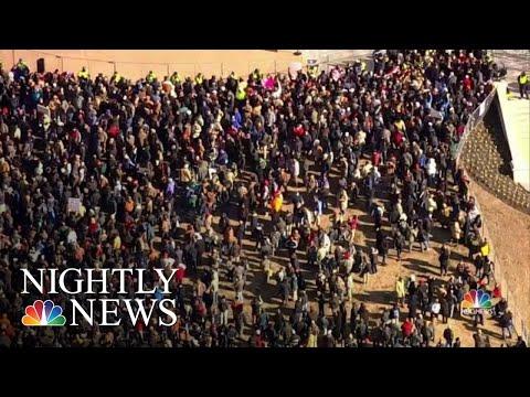 Virginia Pro-Gun Rally Draws Thousands Of Protesters   NBC Nightly News