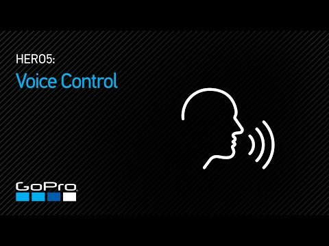 GoPro: HERO5 - Voice Control