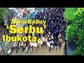 Warga Suku Baduy Bersama sama 'Serbu' Kota Serang