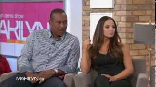 Trish Stratus & Joe Carter on The Marilyn Denis Show (Nov 2012)