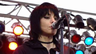 "JOAN JETT AND THE BLACKHEARTS - ""Light Of Day"" @ Sonoma-Marin Fair, Petaluma, 6/25/10"