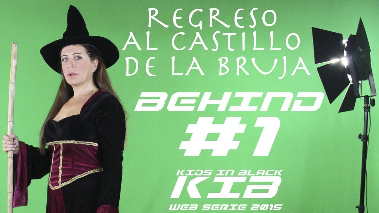 Regreso al Castillo de la Bruja -  Kids In Black 2015 - Detrás de las cámaras #1