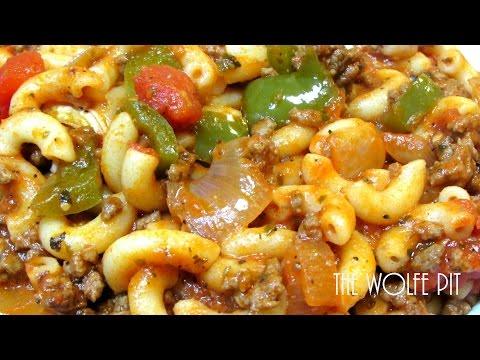American Chop Suey Recipe – How To Make Classic American Chop Suey