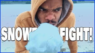 Trent, Flam & Juice Have A Snowball Fight! Who Wins?! - Daily Dose 2.5 (Ep.61)