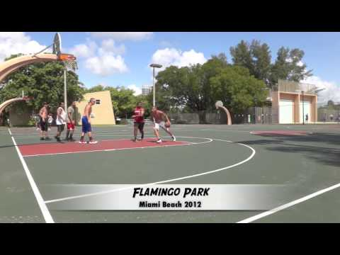 Flamingo Park Miami Beach Basketball