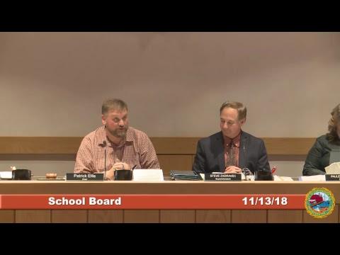 School Board 11.13.2018
