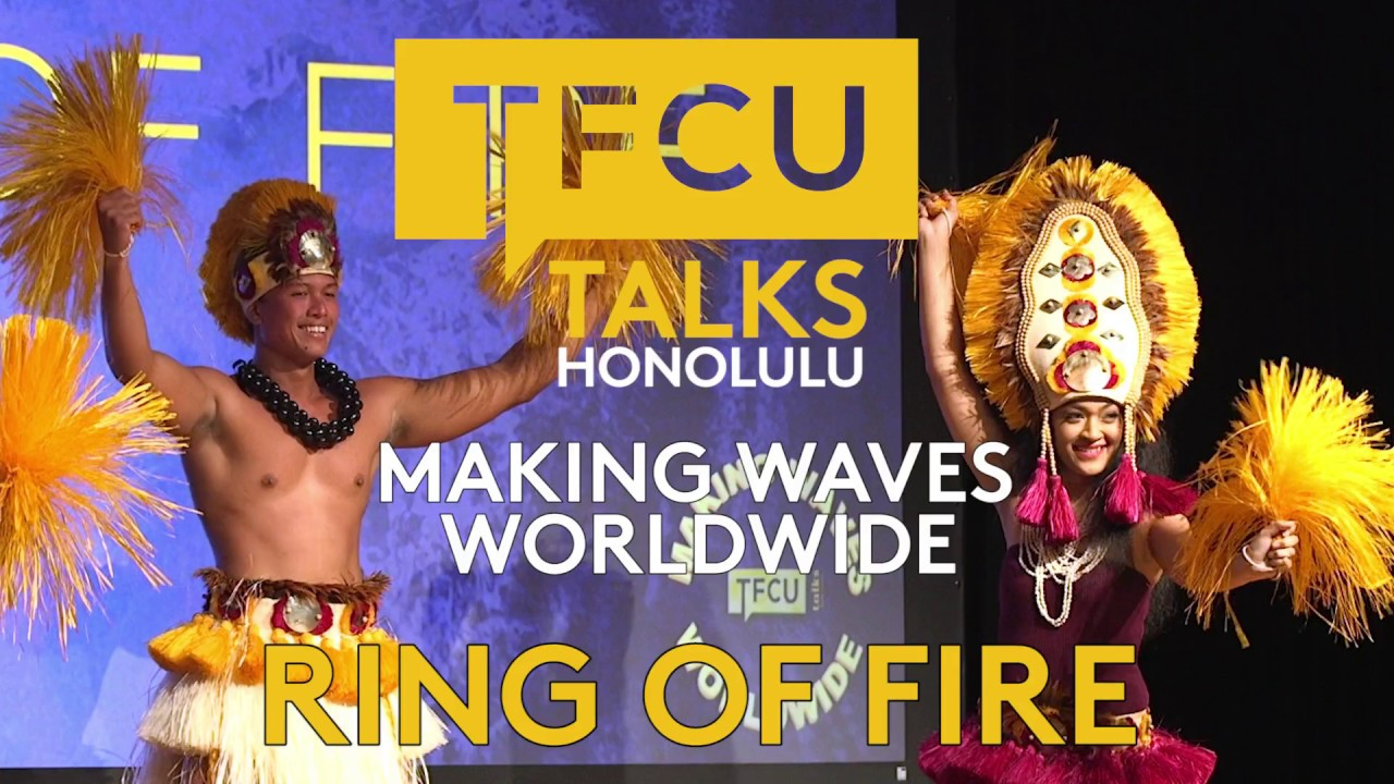 Ring of Fire performance during TFCU Talks Honolulu