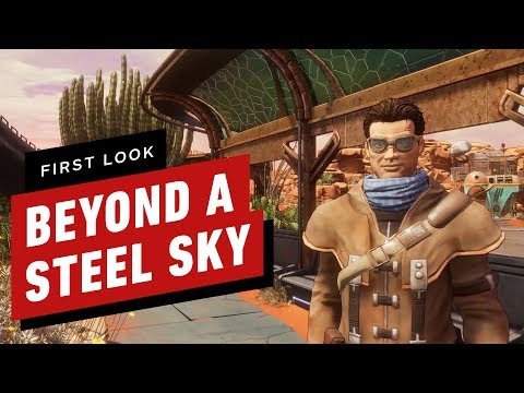 Beyond a Steel Sky - First Look de Beyond a Steel Sky