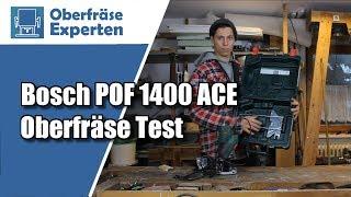 Bosch POF 1400 Ace Test | Ist die Bosch Oberfräse etwas für dich?