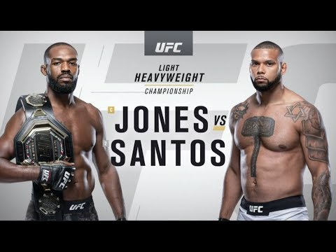 UFC 239: Джон Джонс vs Тиаго Сантос – Online Video