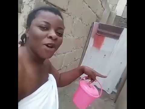 LEAKED BATHROOM VIDEO: What This Ghanaian Girl Did Will Shock You