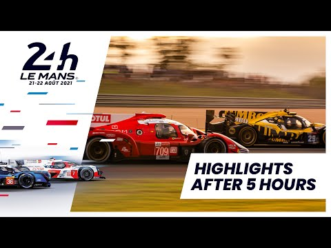 ル・マン24時間 レース2時間から5時間のハイライト動画