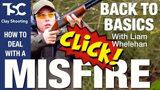 Misfire! What to do next | TSC Clay Shooting