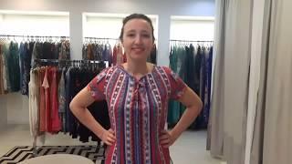 Vídeo Vestido com Amarração Intuição - Cor Azul