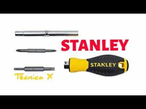 Destornillador Stanley -  Screwdriver  Stanley