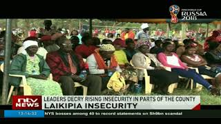 Leaders decry rising insecurity in parts of Laikipia county