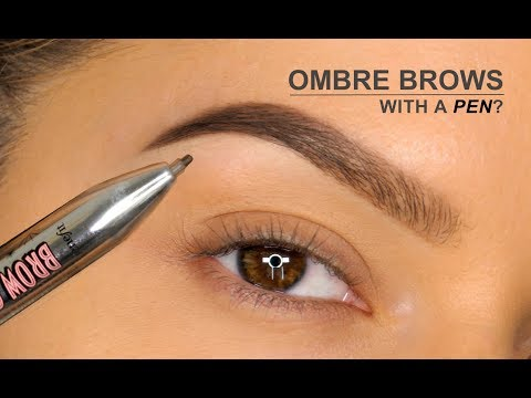 Ombré Brows With A PEN?!! | Benefit Brow Contour Pro Review | Shonagh Scott