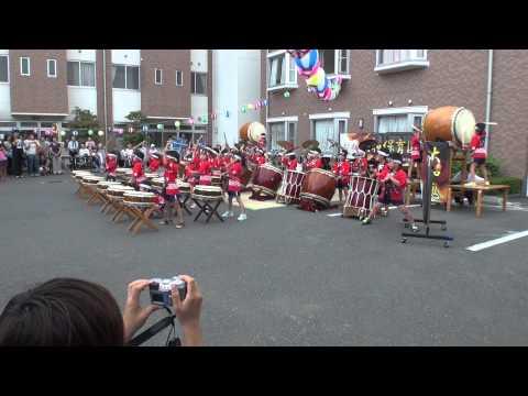 筑西市大和保育園和太鼓演奏「大和太鼓」 大和保育園伝統曲