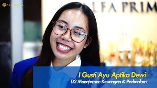 Kuliah Di Bali | KEBANGGAN KULIAH DI ALFA PRIMA | Testimoni dari Aptika Dewi mahasiswa Alfa Prima