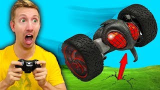 RC Car VS Girlfriend Challenge! (Jump, Crash & Fail Battle in Real Life!)