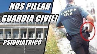 PSIQUIATRICO ABANDONADO NOS PILLAN lugares abandonados urbex