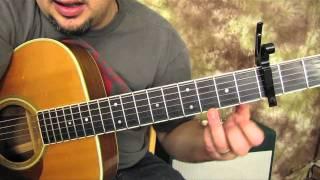 Eminem - Not Afraid - Super Easy Beginner Acoustic Songs - Beginner Guitar Lessons