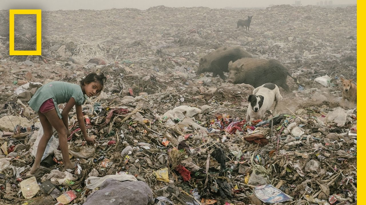 See How Children Live in the World's Most Polluted City | National Geographic thumbnail