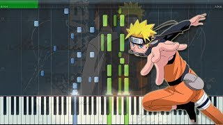 Blue Bird   Naruto Shippuden OP3 (Tv Size) [Piano Tutorial + Midi | Sheet]