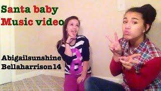 Santa Baby Music Video Ariana grande featuring Liz Gillies ☃
