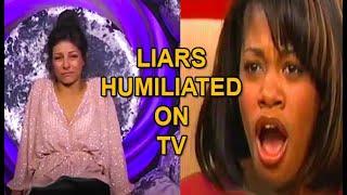LIARS Humiliated on TV