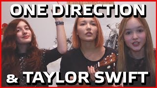 ONE DIRECTION & TAYLOR SWIFT / DRAG ME DOWN & TROUBLE / MIXED COVER