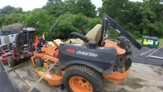 2016 Landscaping Equipment setup