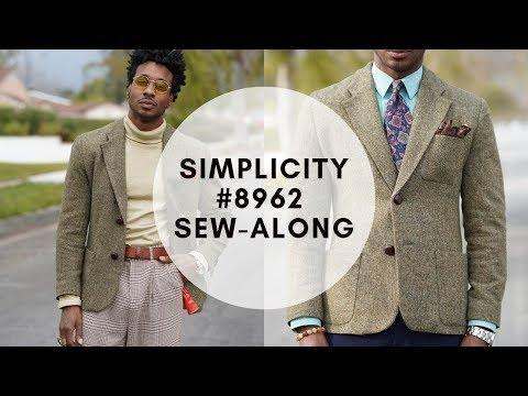 , title : 'SEW-ALONG SIMPLICITY 8962: MEN'S SUIT JACKET