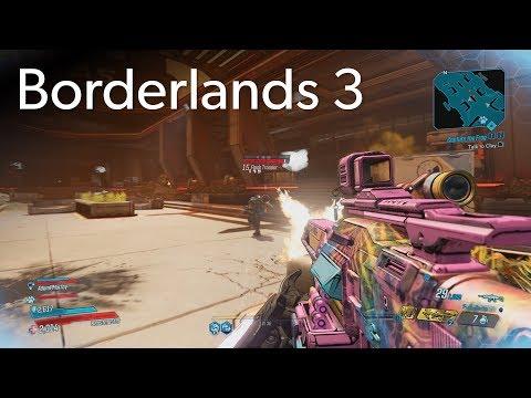 Borderlands 3 PC co-op gameplay