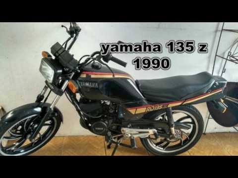 Yamaha RD 125 ,RDZ 125 ,RD 135Z E RD 135 DE 1985 a 1999 a evolução