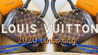 Louis Vuitton Unboxing 2020 | Alma BB Damier Ebene (IS THIS BAG WORTH IT??!!!)
