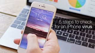 How to check for an iPhone virus