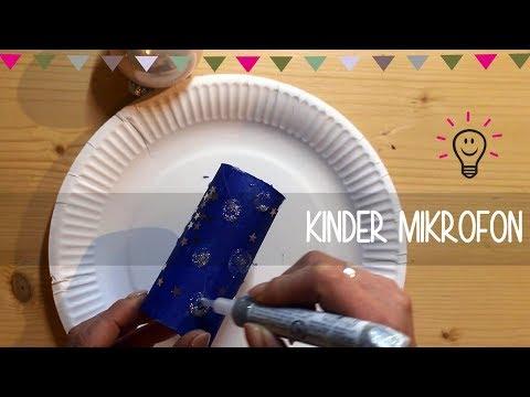 Kinder Mikrofon | Basteln mit Kind  | DIY Anleitung
