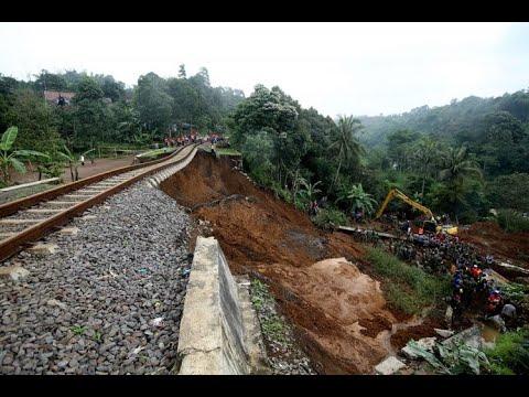 Longsor Jalur Kereta Bogor-Sukabumi, 2 Pekerja Tewas