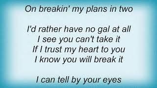 Tampa Red - I See You Can't Take It Lyrics