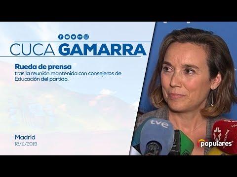 Gamarra: Defenderemos los derechos de las familias a elegir la enseñanza que quieren para sus hijos