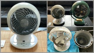 Woozoo Globe Compact Fan by Iris - Review and Demonstration