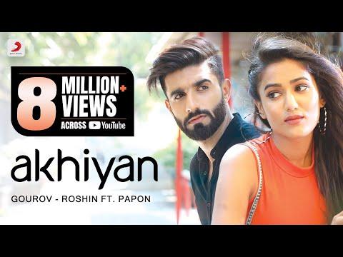 Download Akhiyan | Gourov - Roshin | Papon | Mr. MNV | Gima | Latest Love Song #EkTarfaPyaar neverlove.me HD Mp4 3GP Video and MP3